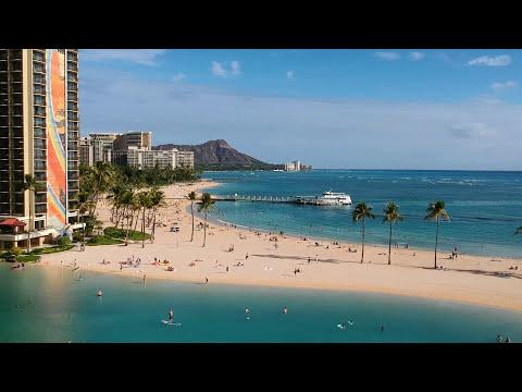 Drone sample flights, Hawaii