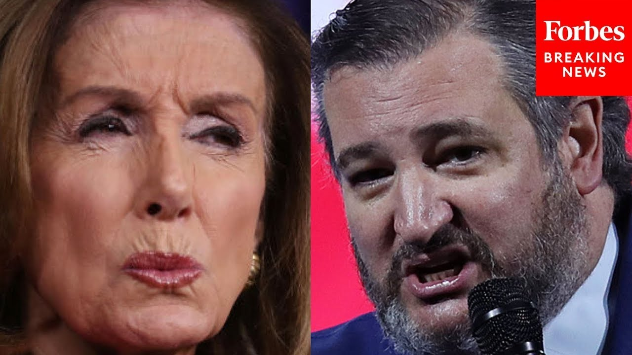 """""""What You've Just Seen Is The Process Failing"""": Ted Cruz Assails Pelosi, Dems On Criminal Justice"""