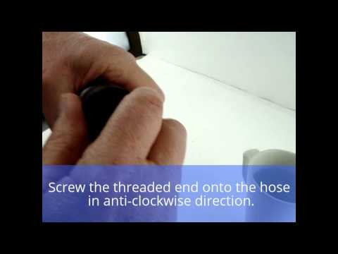 How to replace a Miele Vacuum Cleaner Curved Handle
