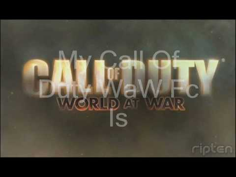 My Call of Duty World at War Friend code (Wii)