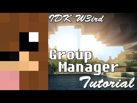 How to create Colored Ranks on your MineCraft Servers [Bukkit] [GroupManager]