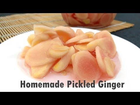 Sweet and Sour Pickled Ginger (Gari Ginger)