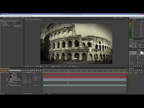 After Effects Tutorial: Old Film Look