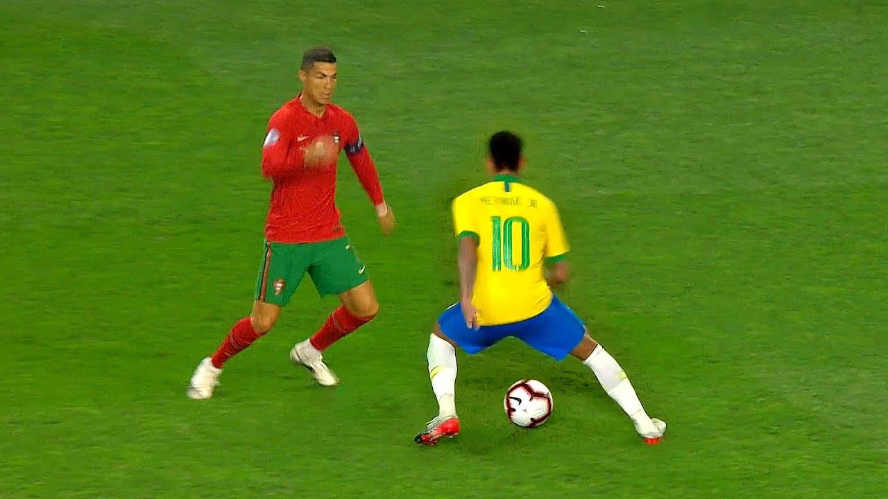 Neymar Humiliating Everyone with Brazil