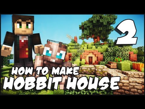 Minecraft: How To Make a Hobbit House - Part 2