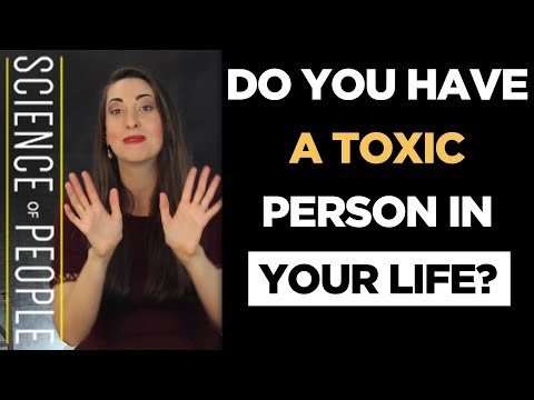 Do You Have a Toxic Person in Your Life?