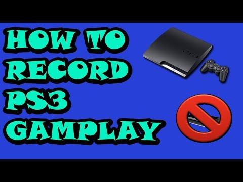 HOW TO RECORD PS3 GAMEPLAY || IOS DEVICES ONLY|| NO GAME CAPTURE|||
