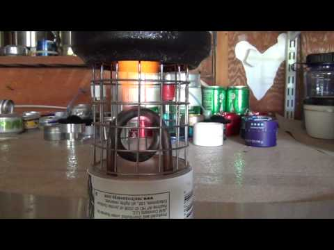 Coil Jet Alcohol Stove Let's Play!