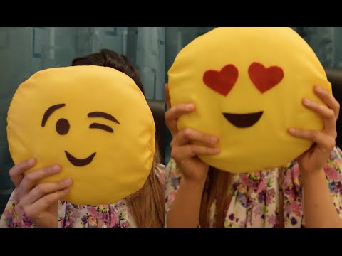 Make you own Emoji Cushion DIY