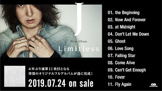 "J / 11th Original Album ""Limitless"" DIGEST"