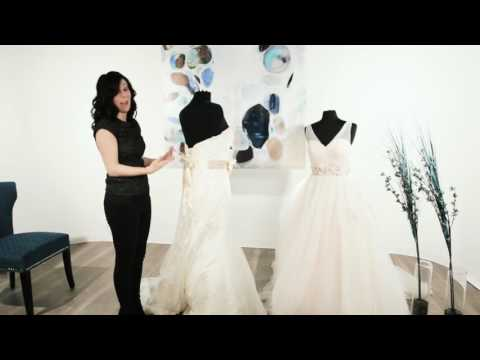 How to Tie a Bow Sash on a Wedding Dress | Make a Perfect Bow