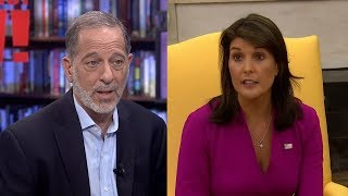 "Rashid Khalidi: Haley Put a Nice Face on Trump's ""Horrific"" U.S. Policies"