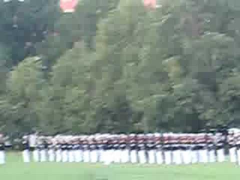 Iwo Jima Sunset Parade