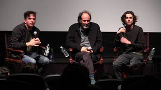 Call Me By Your Name - Luca Guadagnino and Timothée Chalamet Q&A