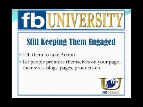 Facebook Fan Engagement - How to Keep Fans Engaged on Your Facebook Page