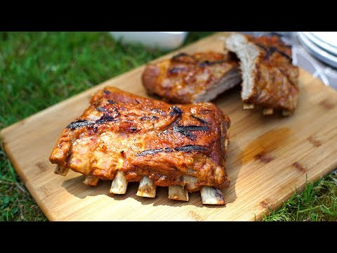 Sweet & sticky BBQ ribs