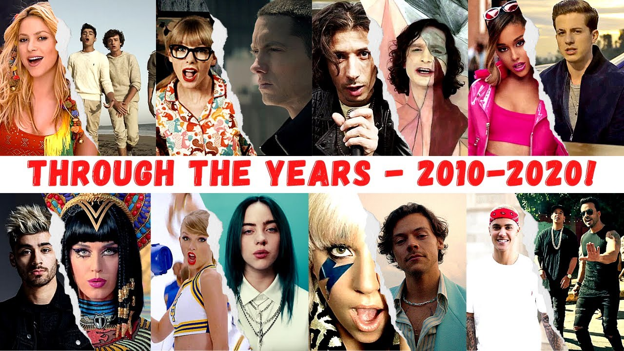 Hit Songs Through The Years - 2010-2020!