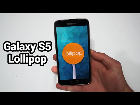 Android 5.0 Lollipop Touchwiz Firmware on Samsung Galaxy S5 - Review