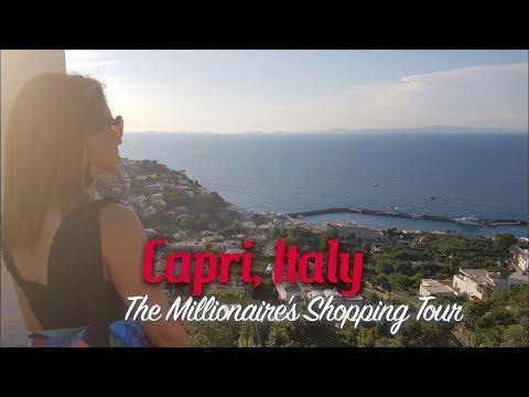 Capri, Italy | The Millionaire's Shopping Tour Guide 💰🛍🤑