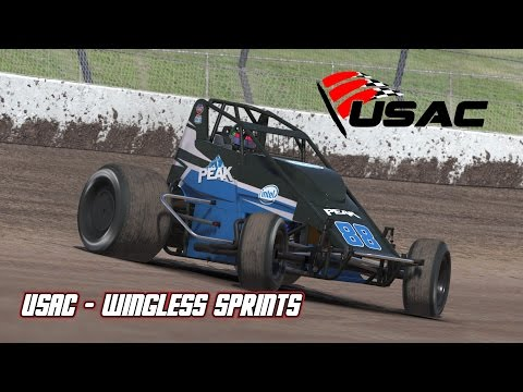iRacing: USAC Impressions - Wingless Sprints First Drive