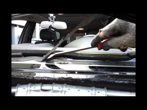 How A Windshield is Removed and Installed  ( One way anyways )
