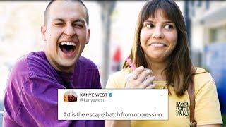 TALKING TO STRANGERS USING KANYE WEST TWEETS   Chris Klemens