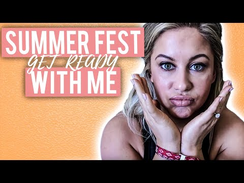 SUMMER FESTIVAL GET READY WITH ME | Shawn Johnson
