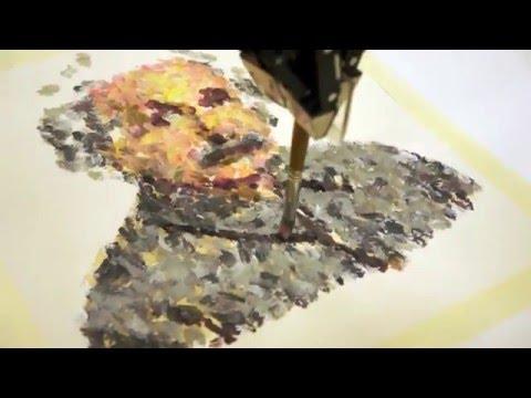 RobotArt - Albert Einstein