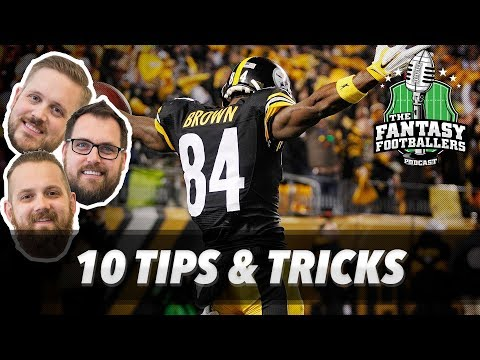 Fantasy Football 2017 - 10 Tips & Tricks to Win Your League - Ep. #417