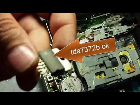 BLAUPUNKT CAR 300 NO SOUND repair tda7372b