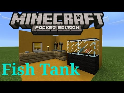 ❤How to make an aquarium |Minecraft Pocket Edition