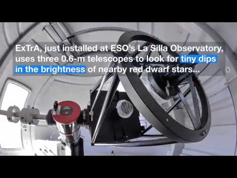 Planet Hunting Telescopes Make First Observation