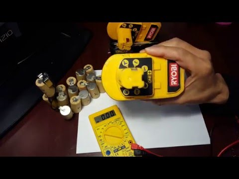 How to check for bad rechargeable batteries with a multimeter