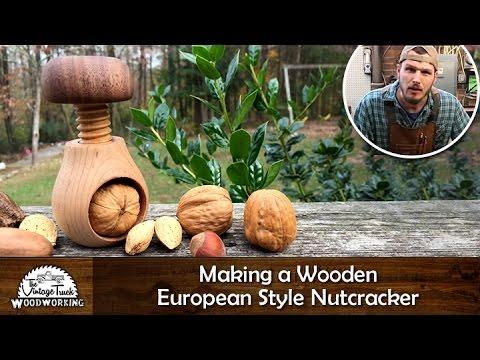 Making a Wooden European Style Nutcracker