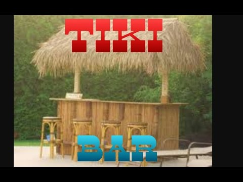 How to make a Tiki Bar!