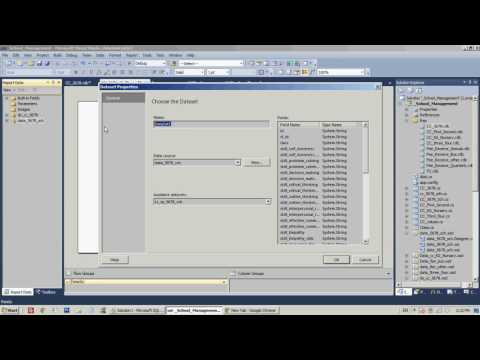 Add MULTIPLE DATA SOURCES TO rdlc report c# visual Studio