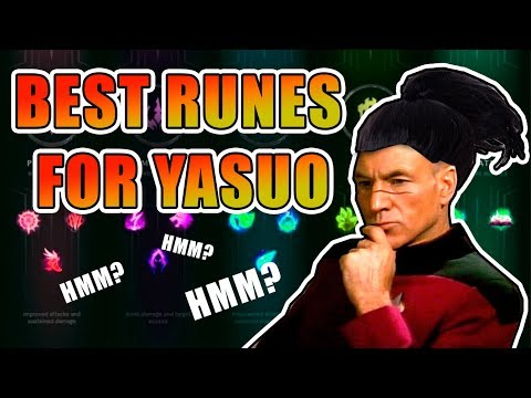 Best Runes For Yasuo, Guide Season 8!  (Patch 8.2)