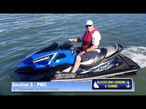 Qld Boat Licence Section 5.1 PWC by Allstate Boat Licensing & Training