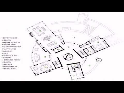 Tiny Round House Floor Plans
