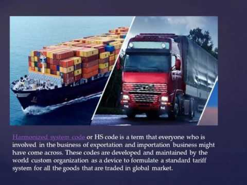 Get Complete List Of Harmonised Code India From Seair