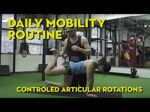 Daily Mobility Routine (C.A.R.'s)