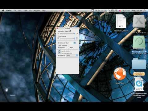 Make icons larger on mac os x