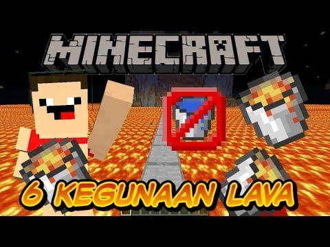 💩🔵🚫🔥🔥6 kegunaan lava bucket di Minecraft [Minecraft tutorial] (tutorial survival)