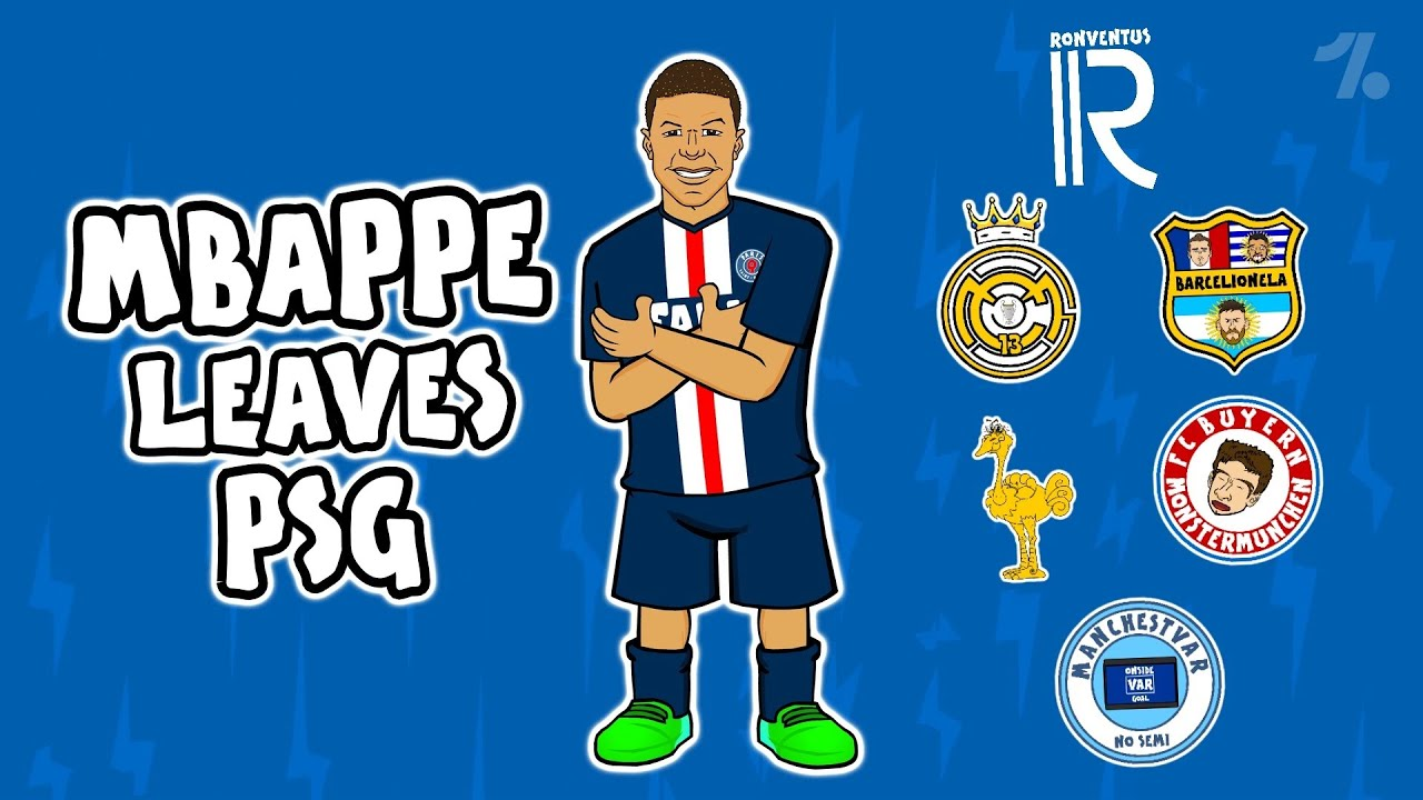 Which club would Mbappe LEAVE PSG for? ► Onefootball x 442oons
