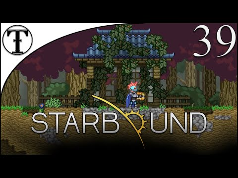 Oriental Steampunk Colony Part 2 : Finishing the Oriental Village :: Starbound Episode 39