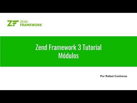 Zend Framework 3 Tutorial: 02 Módulos