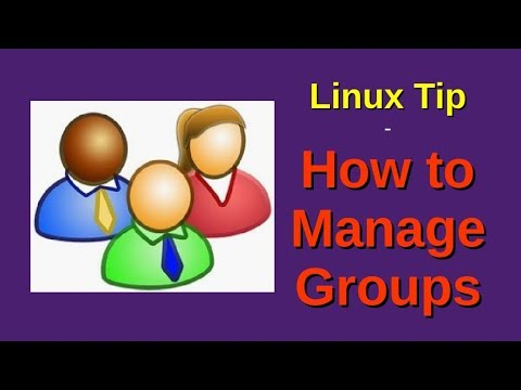 Linux Tip | How to Manage Groups