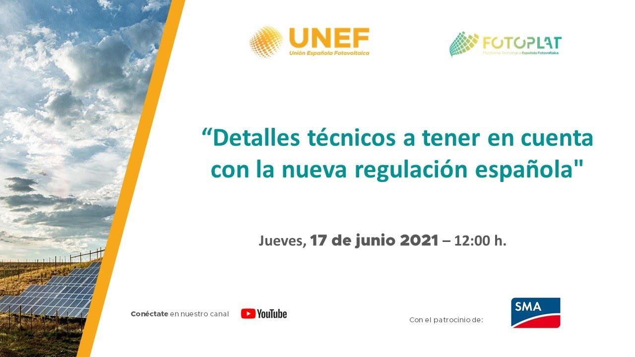 """Webinar -  """"Detalles técnicos a tener en cuenta con la nueva regulación española"""""""
