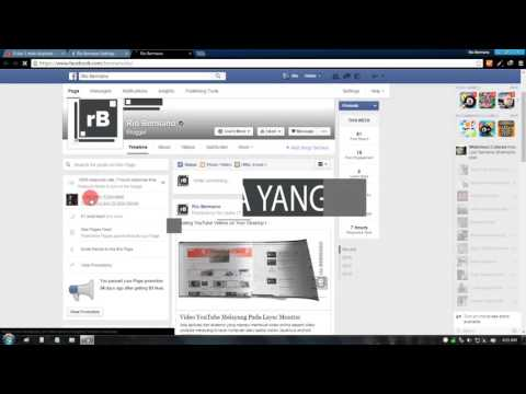 Cara Melihat Siapa yang Like Fanpage Facebook