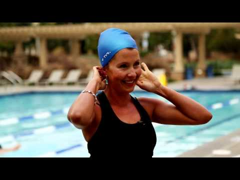 The Best Swim Caps for Women's Long Hair : Water Workouts